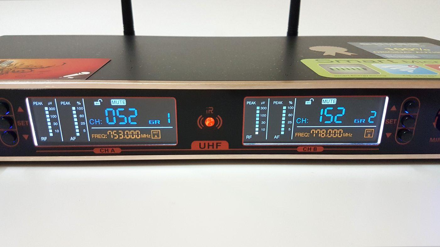 Micro Karaoke Shure UGX9III A+