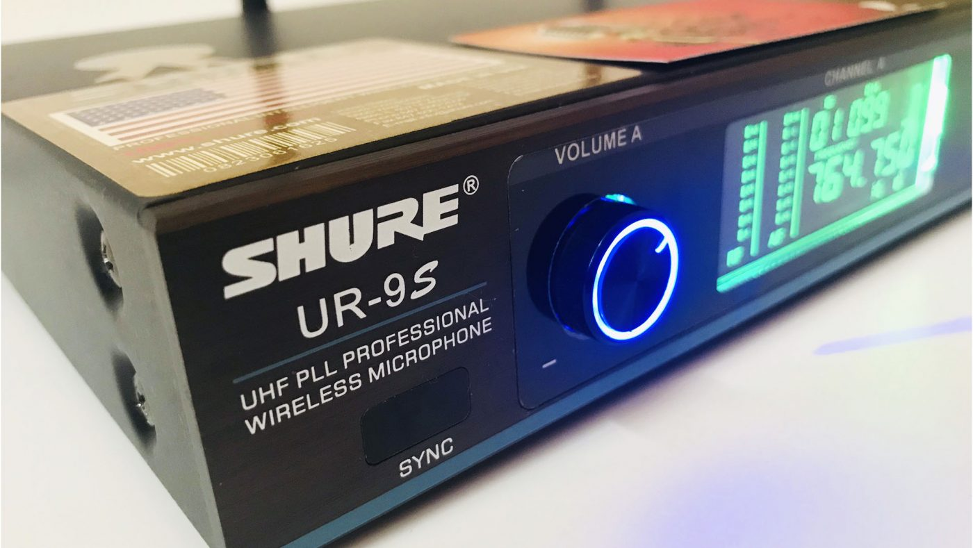 Micro Shure Ur9s