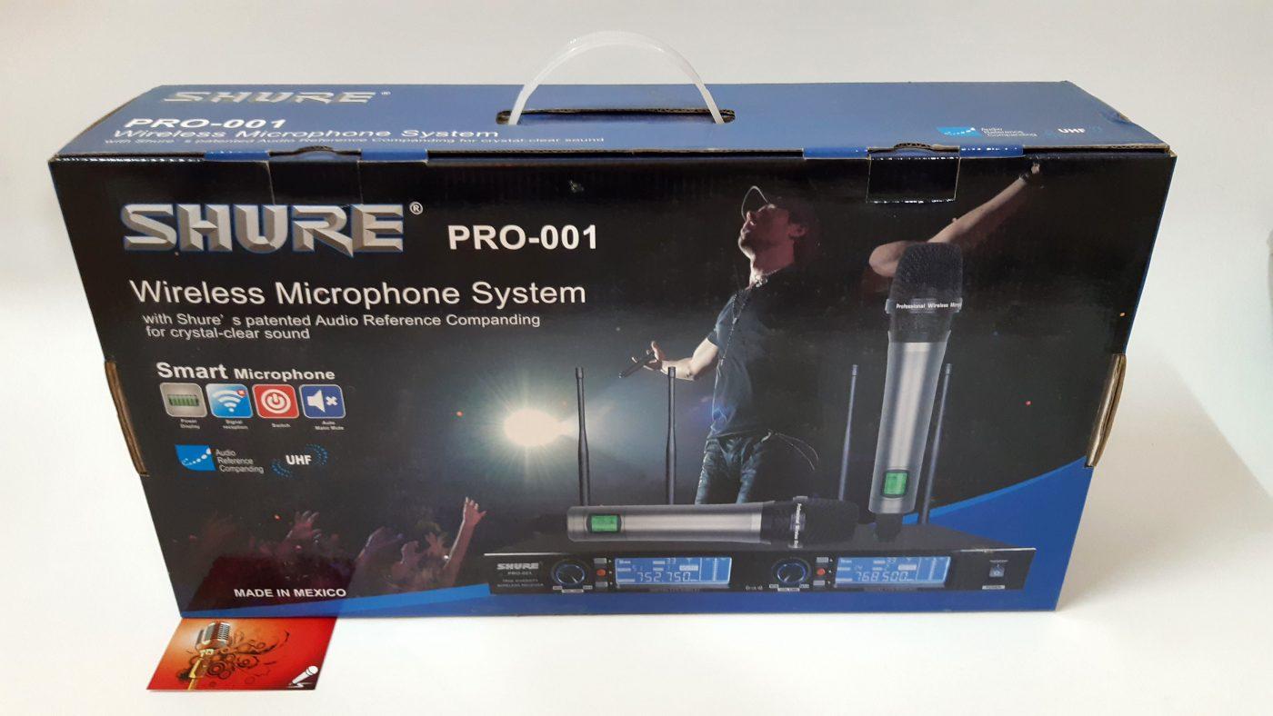 Micro Shure Pro001